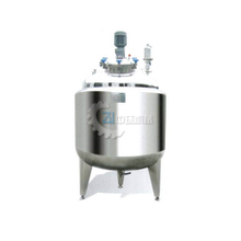 Stainless Steel Mixing Tanker