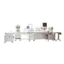 automatic water emulsion filling and capping machine